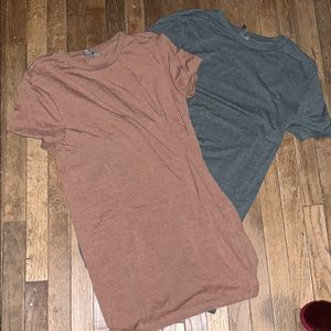ASOS muscle fit long tee's